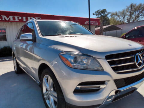 2014 Mercedes-Benz M-Class for sale at Empire Automotive Group Inc. in Orlando FL