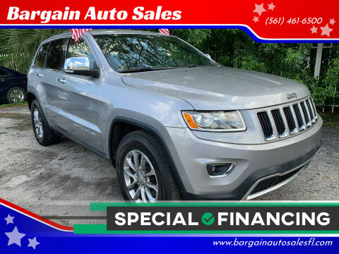 2015 Jeep Grand Cherokee for sale at Bargain Auto Sales in West Palm Beach FL