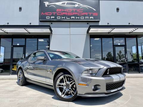 2010 Ford Shelby GT500 for sale at Exotic Motorsports of Oklahoma in Edmond OK