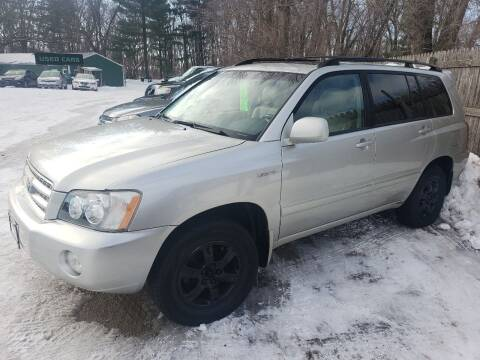 2003 Toyota Highlander for sale at Northwoods Auto & Truck Sales in Machesney Park IL
