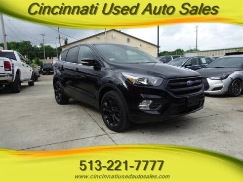 2013 Ford Escape for sale at Cincinnati Used Auto Sales in Cincinnati OH