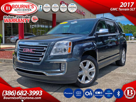 2017 GMC Terrain for sale at Bourne's Auto Center in Daytona Beach FL