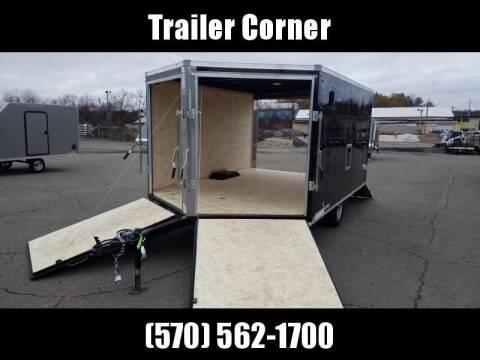 Look Trailers EDFT 8.5X12 SNOWMOBILE TRAILER