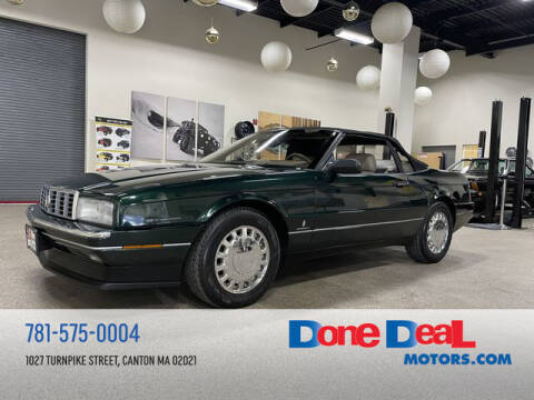 1993 Cadillac Allante for sale at DONE DEAL MOTORS in Canton MA