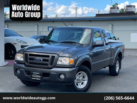 2010 Ford Ranger for sale at Worldwide Auto Group in Auburn WA