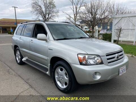 2004 Toyota Highlander for sale at About New Auto Sales in Lincoln CA