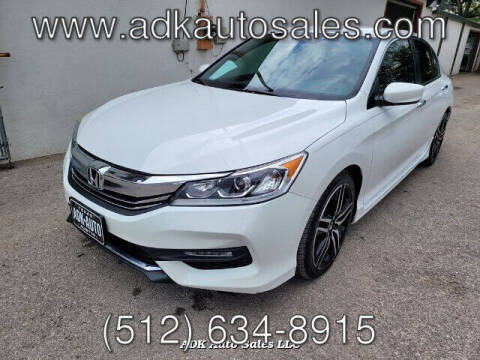 2016 Honda Accord for sale at ADK AUTO SALES LLC in Austin TX