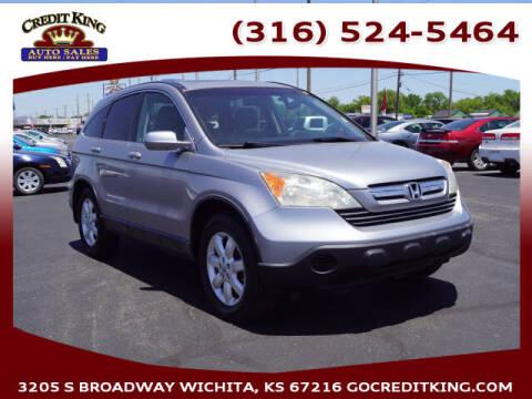 2007 Honda CR-V for sale at Credit King Auto Sales in Wichita KS
