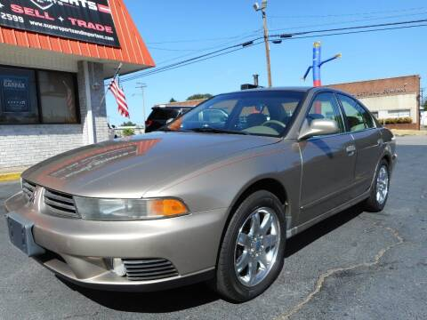 2002 Mitsubishi Galant for sale at Super Sports & Imports in Jonesville NC