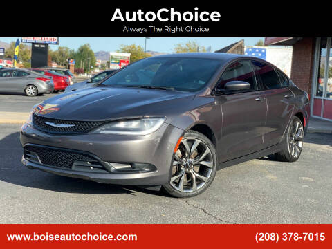 2015 Chrysler 200 for sale at AutoChoice in Boise ID