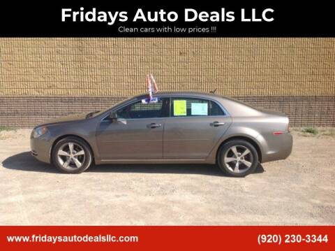 2011 Chevrolet Malibu for sale at Fridays Auto Deals LLC in Oshkosh WI