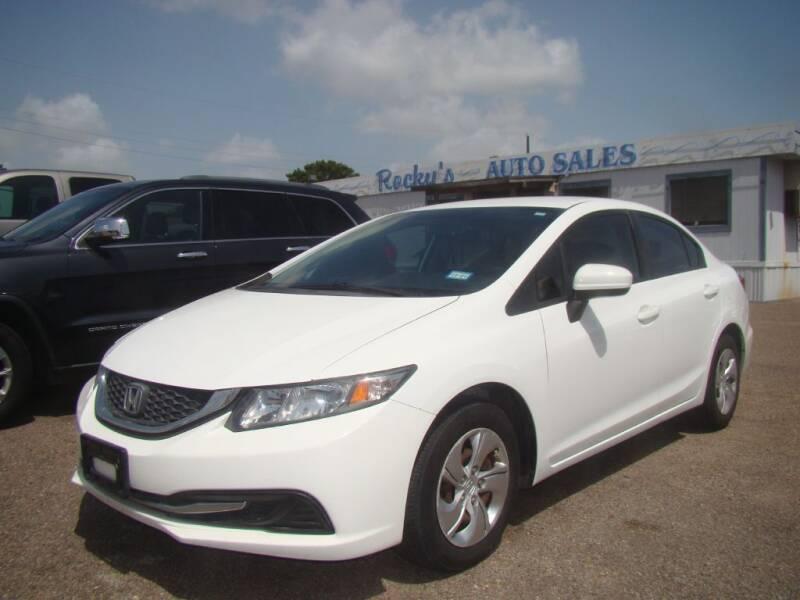 2014 Honda Civic for sale at Rocky's Auto Sales in Corpus Christi TX
