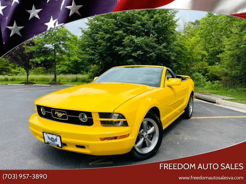 2006 Ford Mustang for sale at Freedom Auto Sales in Chantilly VA
