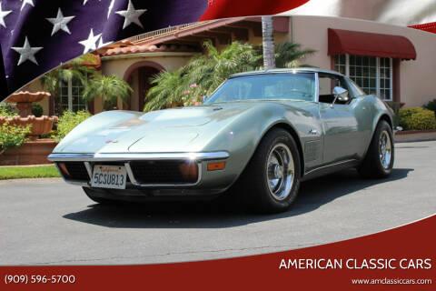 1972 Chevrolet Corvette for sale at American Classic Cars in La Verne CA
