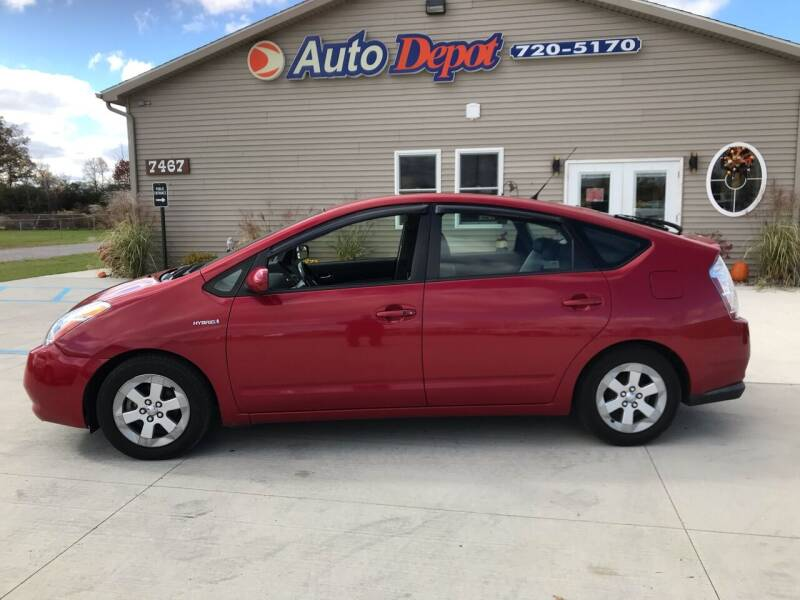 2008 Toyota Prius for sale at The Auto Depot in Mount Morris MI