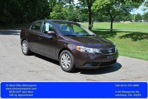 2011 Kia Forte for sale at Or Best Offer Motorsports in Columbus OH