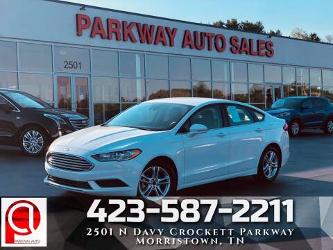 2018 Ford Fusion for sale at Parkway Auto Sales, Inc. in Morristown TN