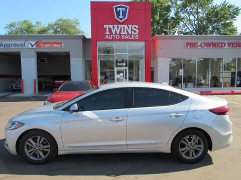 2018 Hyundai Elantra for sale at Twins Auto Sales Inc - Detroit in Detroit MI