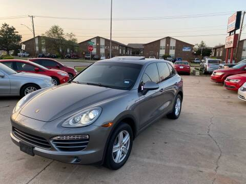 2012 Porsche Cayenne for sale at Car Gallery in Oklahoma City OK