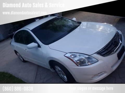 2012 Nissan Altima for sale at Diamond Auto Sales & Service in Norwich CT