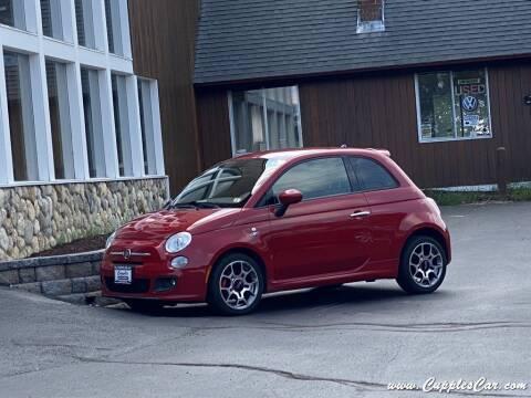 2015 FIAT 500 for sale at Cupples Car Company in Belmont NH