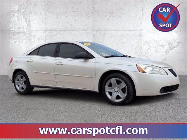 2008 Pontiac G6 for sale at Car Spot Of Central Florida in Melbourne FL