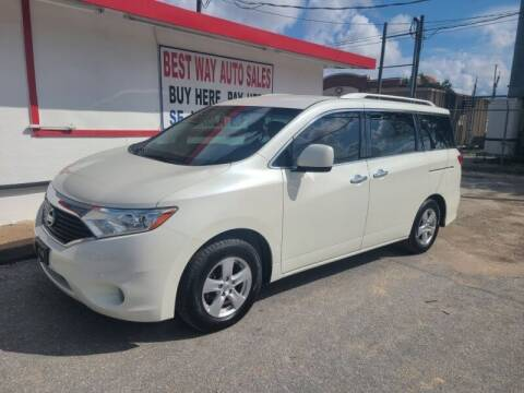 2013 Nissan Quest for sale at Best Way Auto Sales II in Houston TX