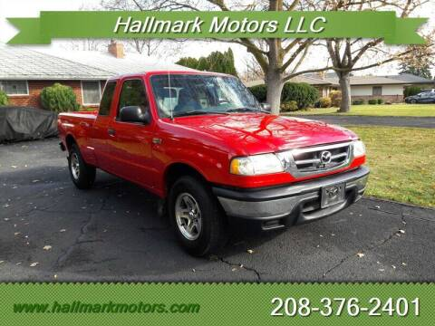 2004 Mazda B-Series Truck for sale at HALLMARK MOTORS LLC in Boise ID