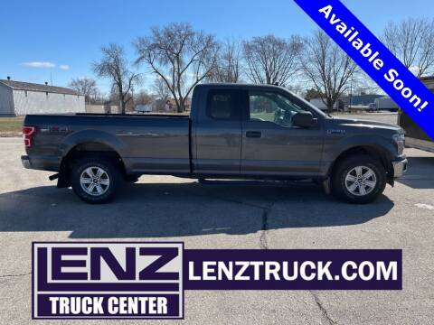 2019 Ford F-150 for sale at LENZ TRUCK CENTER in Fond Du Lac WI