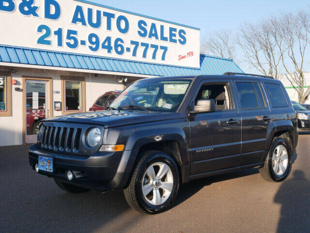 2014 Jeep Patriot for sale at B & D Auto Sales Inc. in Fairless Hills PA