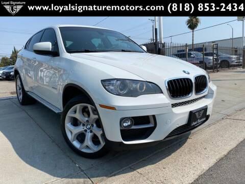 2014 BMW X6 for sale at Loyal Signature Motors Inc. in Van Nuys CA