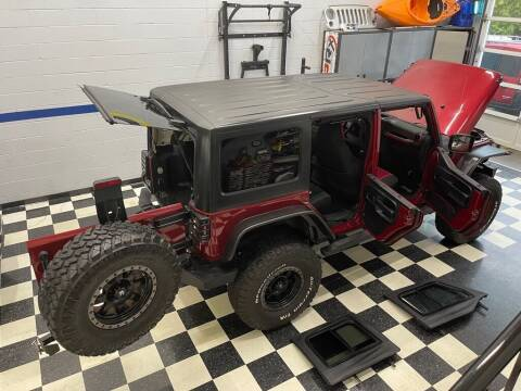 2011 Jeep Wrangler Unlimited for sale at Euro Auto Sport in Chantilly VA