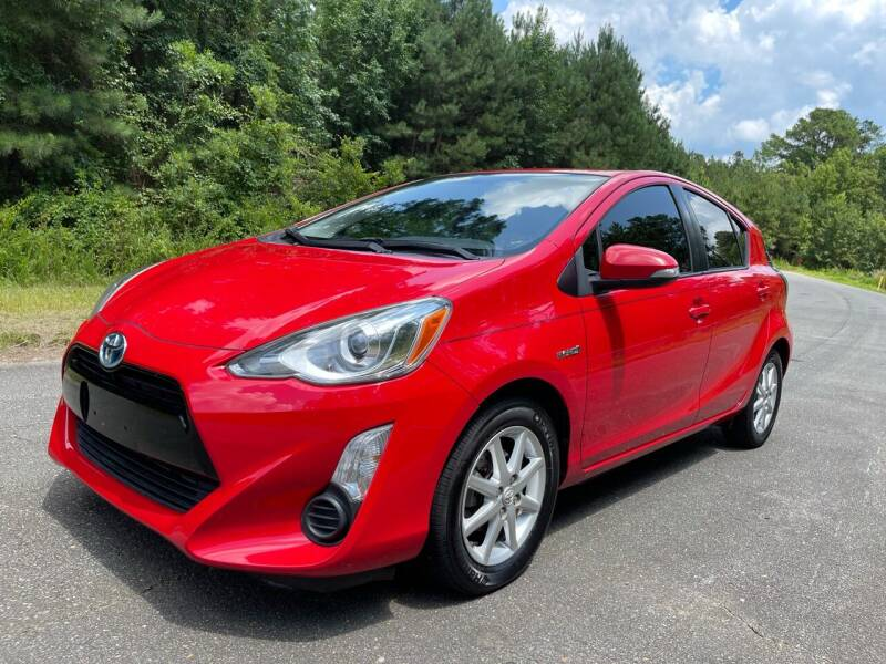 2015 Toyota Prius c for sale at Carrera AutoHaus Inc in Clayton NC