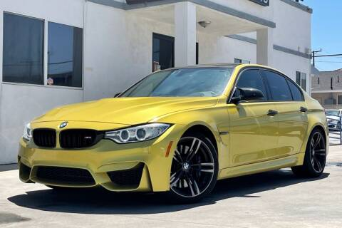2016 BMW M3 for sale at Fastrack Auto Inc in Rosemead CA