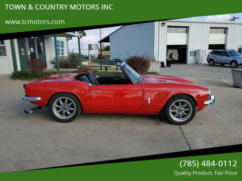 1970 Triumph Spitfire for sale at TOWN & COUNTRY MOTORS INC in Meriden KS