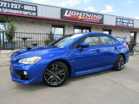 2016 Subaru WRX for sale at Lightning Motorsports in Grand Prairie TX