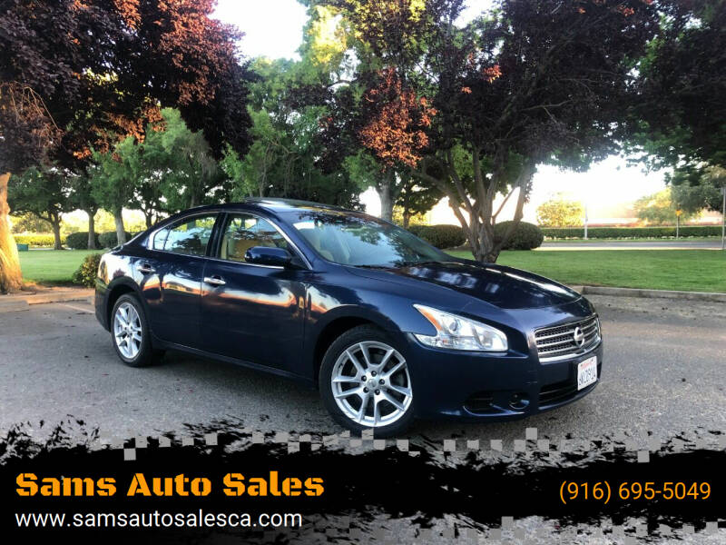 2009 Nissan Maxima for sale at Sams Auto Sales in North Highlands CA