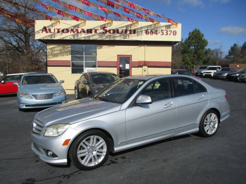 2008 Mercedes-Benz C-Class for sale at Automart South in Alabaster AL