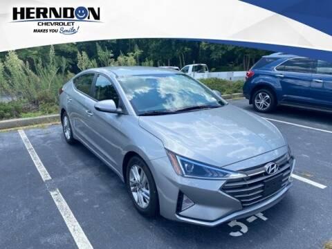 2020 Hyundai Elantra for sale at Herndon Chevrolet in Lexington SC