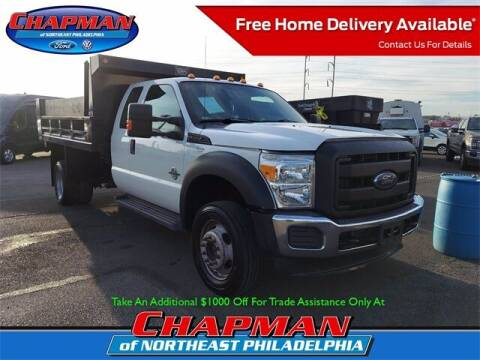2012 Ford F-550 Super Duty for sale at CHAPMAN FORD NORTHEAST PHILADELPHIA in Philadelphia PA