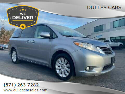 2011 Toyota Sienna for sale at Dulles Cars in Sterling VA