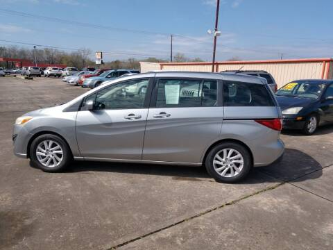 2012 Mazda MAZDA5 for sale at BIG 7 USED CARS INC in League City TX