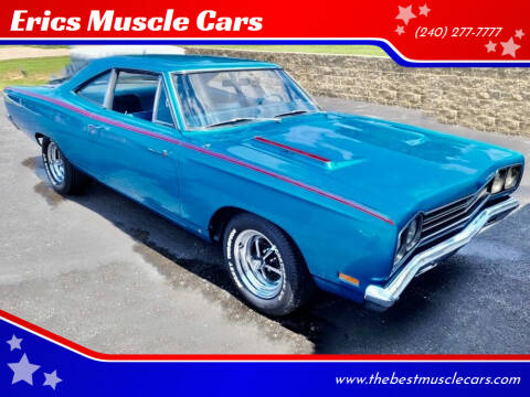 1969 Plymouth Roadrunner for sale at Erics Muscle Cars in Clarksburg MD