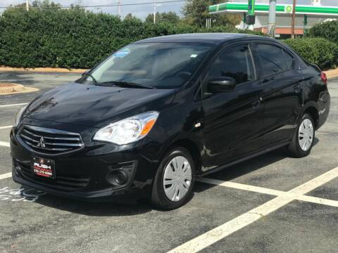 2019 Mitsubishi Mirage G4 for sale at RUSH AUTO SALES in Burlington NC