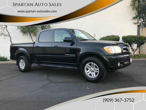 2005 Toyota Tundra for sale at Spartan Auto Sales in Upland CA