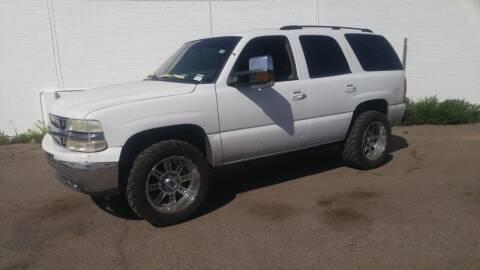 2003 Chevrolet Tahoe for sale at Advantage Motorsports Plus in Phoenix AZ