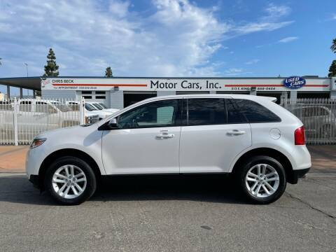 2014 Ford Edge for sale at MOTOR CARS INC in Tulare CA