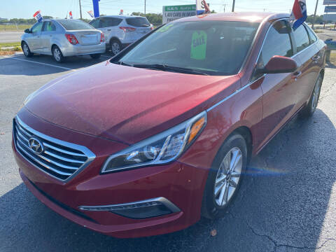 2015 Hyundai Sonata for sale at K&N Auto Sales in Tampa FL