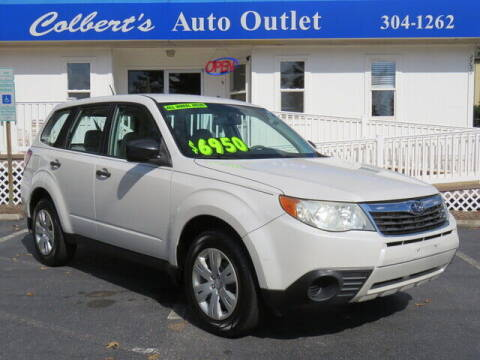 2009 Subaru Forester for sale at Colbert's Auto Outlet in Hickory NC