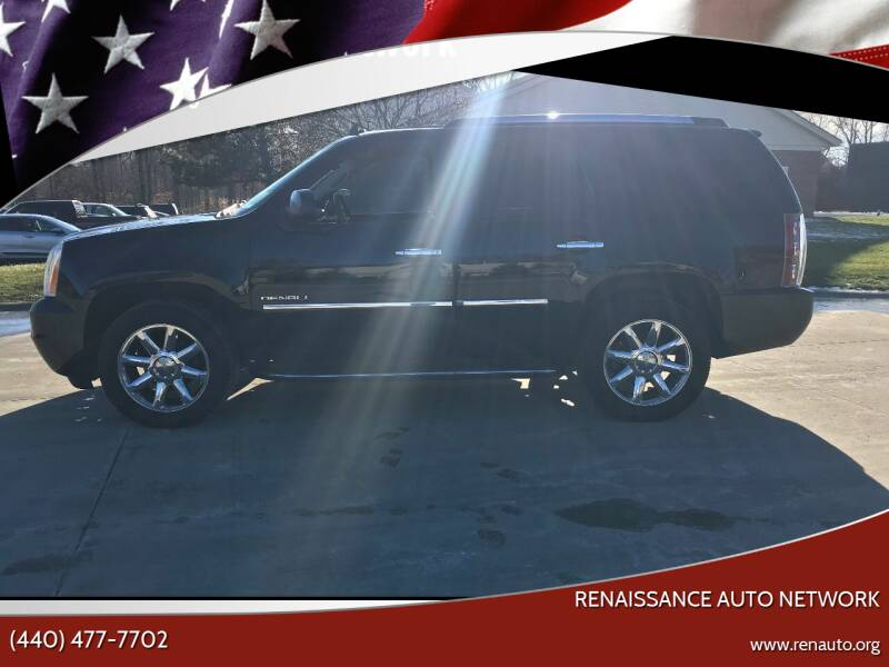 2013 GMC Yukon for sale at Renaissance Auto Network in Warrensville Heights OH